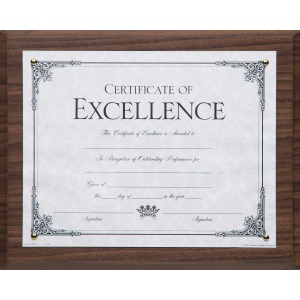 DAX Solid Wood Award Plaques