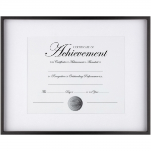 DAX Contemporary Border Document Frame