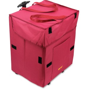dbest Smart Travel/Luggage Case Laundry, Grocery, Book - Red