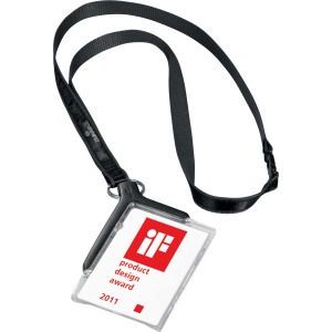 DURABLE Card Holder Deluxe with Lanyard