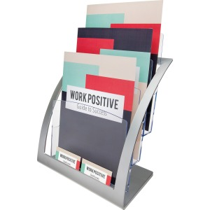 Deflecto Contemporary Literature Holder
