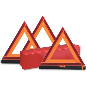 Deflecto Early Warning Triangle Kit