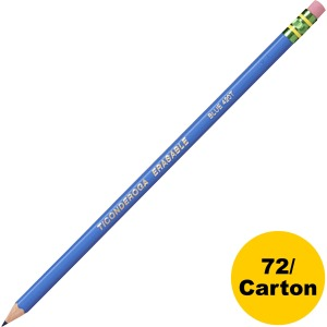 Dixon Eraser Tipped Checking Pencils