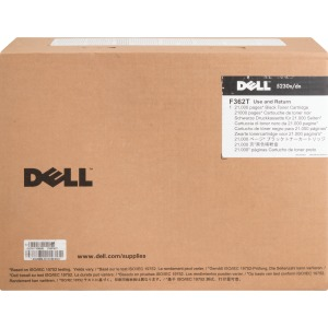Dell F362T Toner Cartridge - Black