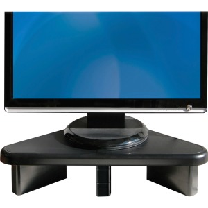DAC Stax Ergonomic Height Adjustable Corner Monitor Riser