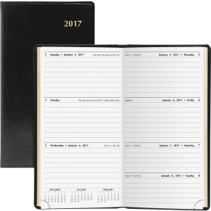 Day-Timer Bound 2PPW Weekly Slim Planner