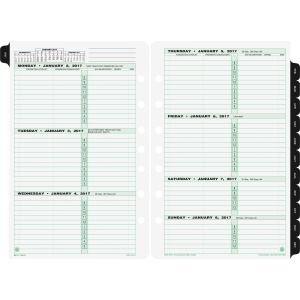 Day-Timer 2-page-per-week Original Planner Desk Refill