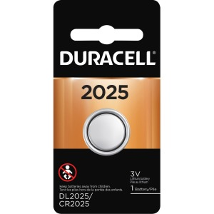 Duracell Coin Cell Lithium 3V Battery - DL2025