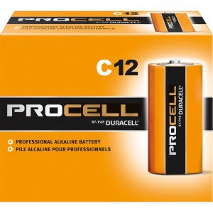 Duracell Procell Alkaline C Battery - PC1400