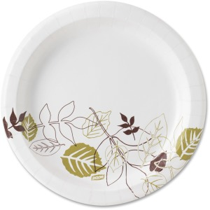 "Dixie 8-1/2"" Pathways Design Paper Plates"