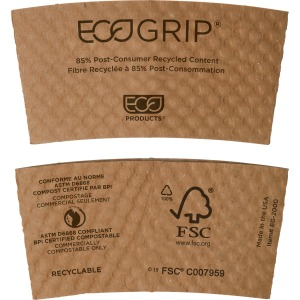 Eco-Products EcoGrip Hot Cup Sleeve