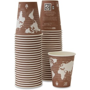 Eco-Products Renewable Resource Hot Drink Cups