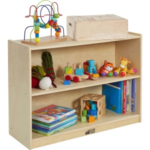 ECR4KIDS Birch 2-shelf Storage Cabinet