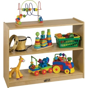 ECR4KIDS 2-shelf Open Storage Cabinet