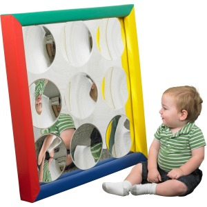 ECR4KIDS Bubble Innie Frame Mirror