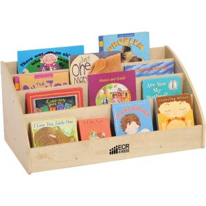 ECR4KIDS Birch Toddler Book Display