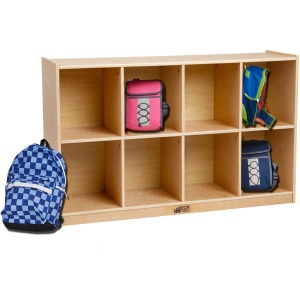 ECR4KIDS Birch 8 Cubby Storage Unit
