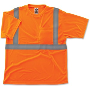 GloWear Class 2 Reflective Orange T-Shirt