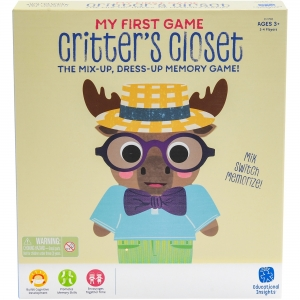 Educational Insights My First Game Critter's Closet