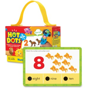 Hot Dots Jr. Numbers Card Set
