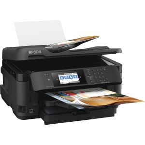 Epson WorkForce WF-7710 Inkjet Multifunction Printer - Color