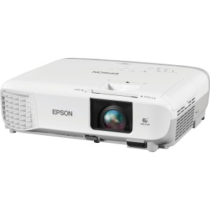 Epson PowerLite S39 LCD Projector - White, Gray