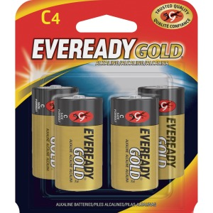 Energizer Gold Alkaline C Batteries