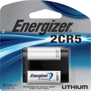 Energizer 2CR5 Batteries, 1 Pack