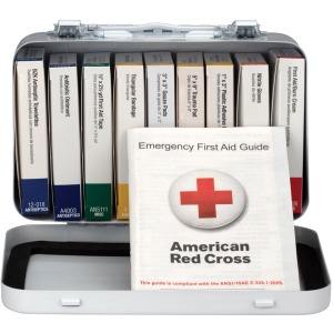First Aid Only 10-unit ANSI 64-piece First Aid Kit