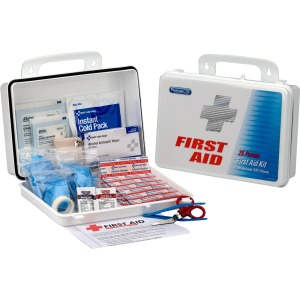 First Aid Only 25 Person Office First Aid Kit, 135 Pieces, Plastic Case
