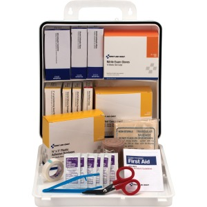 First Aid Only 75 Person Office First Aid Kit, 312 Pieces, Plastic Case