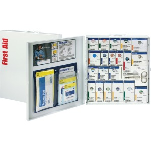 First Aid Only 50 Person Large SC 1st Aid Cabinet