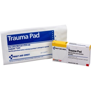 First Aid Only Trauma Pad