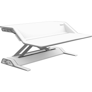 Fellowes Lotus™ Sit-Stand Workstation - White