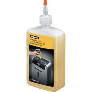 Fellowes Powershred® Shredder Oil ® 12 Oz. Bottle
