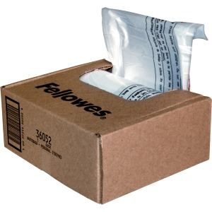 Fellowes Waste Bags for Small Office / Home Office Shredders