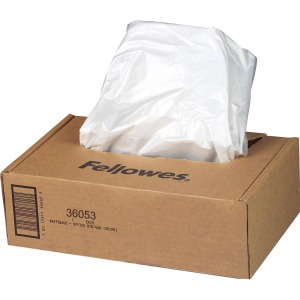 Fellowes Waste Bags for 99Ms, 90S , 99Ci, HS-440 and AutoMax® 130C and 200C Shredders