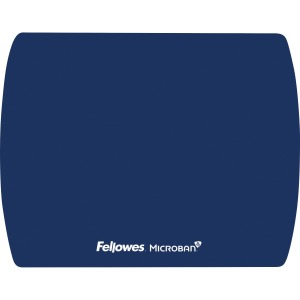 Fellowes Microban® Ultra Thin Mouse Pad - Blue