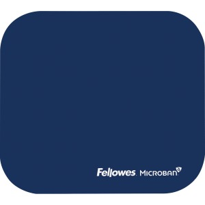 Fellowes Microban® Mouse Pad - Blue
