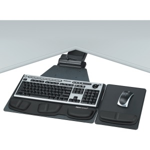Professional Series Corner Executive Keyboard Tray