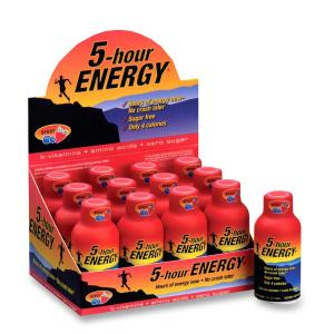 5-Hour Energy 5 Hour Energy Berry Energy Drink
