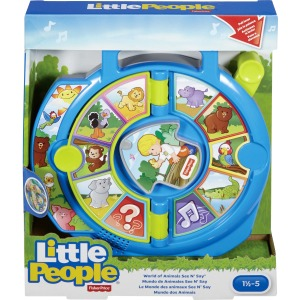 Little People World of Animals See 'n Say Toy