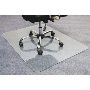 Floortex Glaciermat Glass Chairmat