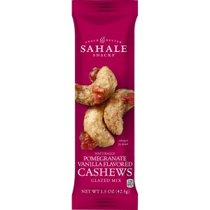 Sahale Snacks Pomegranate/Vanilla Cashew Glazed Snack Mix