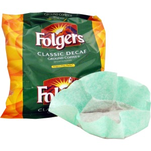 Folgers .9 oz Decaffeinated Filter Packs Filter Pack
