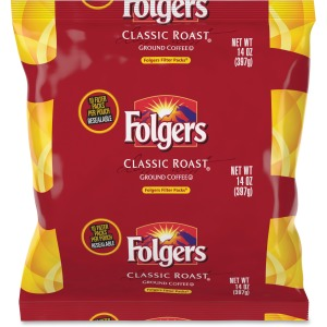 Folgers Classic Roast Ground Coffee Filter Packs Ground