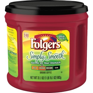 Folgers Simply Smooth Medium Ground Coffee Ground