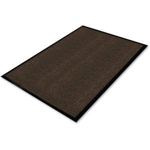 Genuine Joe Gold Dual-Rib Hard Surface Floor Mat