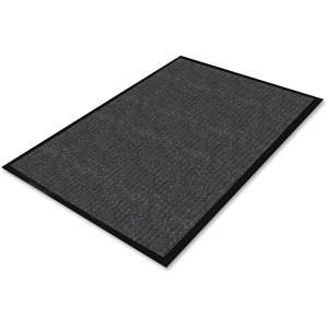 Genuine Joe Ribbed Indoor Wiper Mat