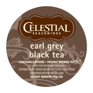 Celestial Seasonings Victorian Earl Grey Tea - Black Tea - Assorted - K-Cup - 24 / Box